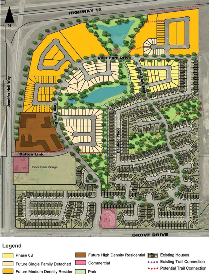 deer park estates site plan 2018